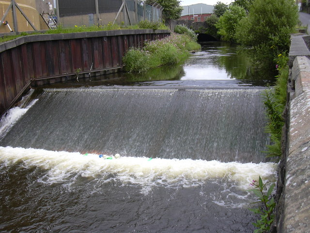 River Irwell at Cloughfold.