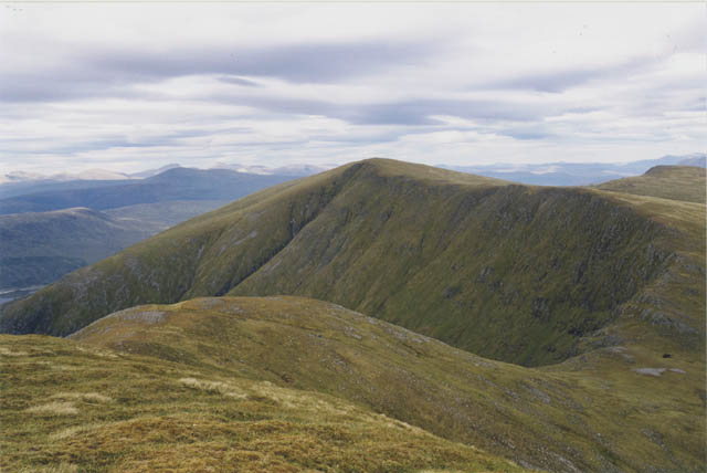 The north east ridge of Sgurr nan Ceannaichean