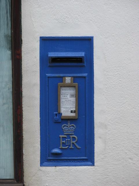 Blue Postbox
