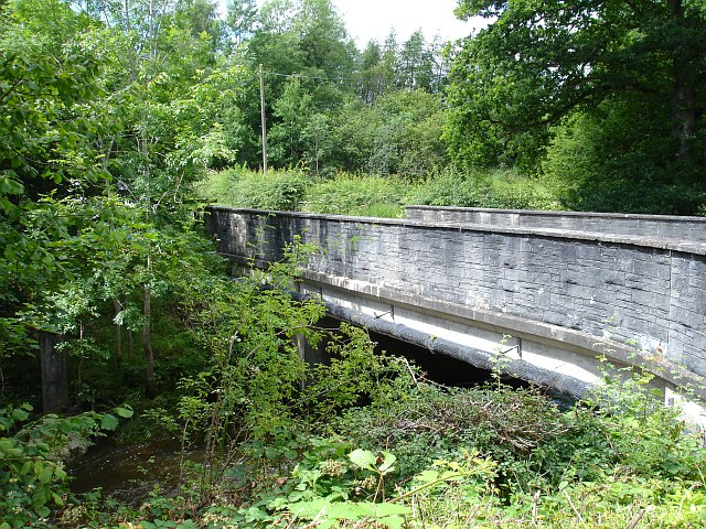 Bridge over the Rhiw