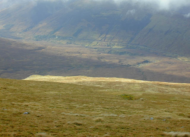 North western slopes of Moruisg