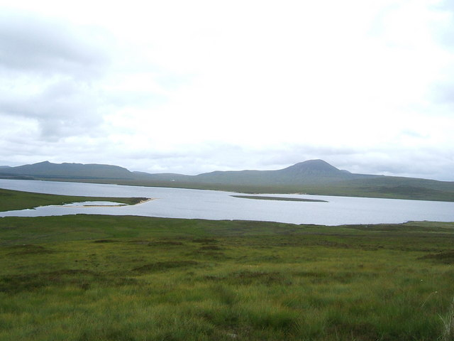 View on Loch Badanloch