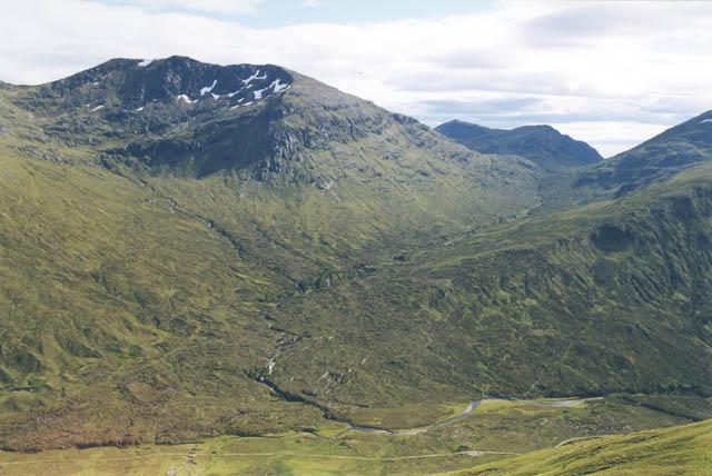 View south west from high on Sgurr nan Ceannaichean