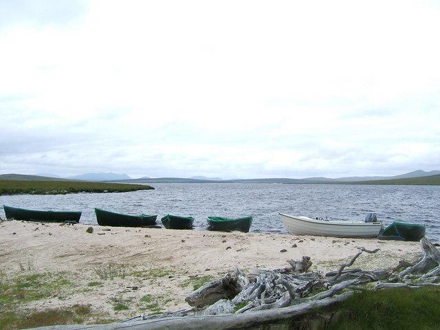 Shores of Loch Badanloch