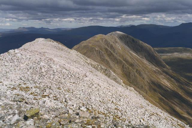 The east ridge of Beinn Liath Mhor