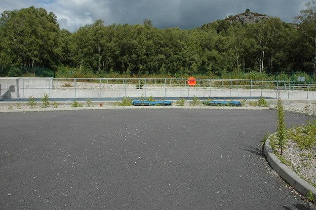 Waterworks at Loch Duntelchaig