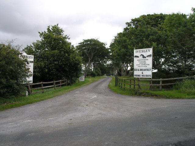 Equestrian Centre. Iversley Farm.