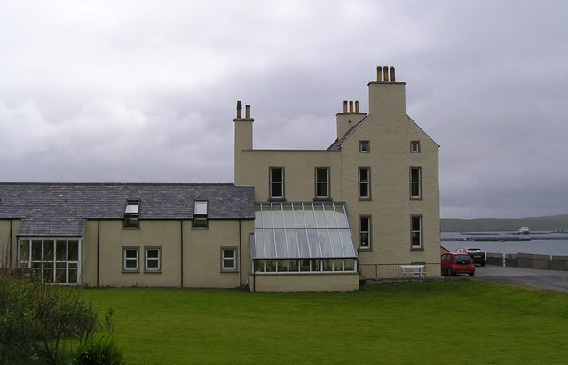 Hotel at Burrastow.