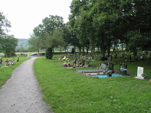 Waterhouses Cemetery.