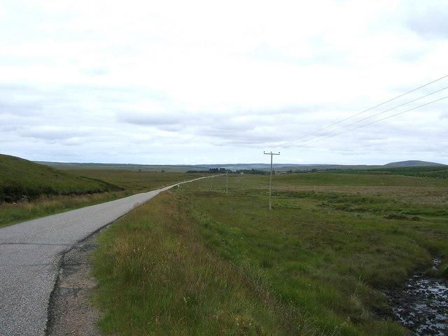 A897 road