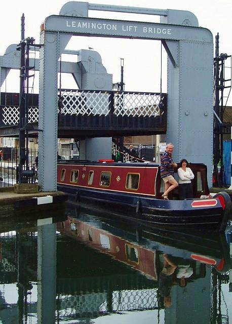 Leamington Lift Bridge - lifted