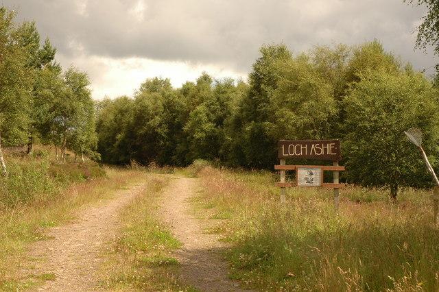 Track to Loch Ashie