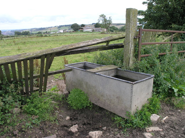 Water Trough.