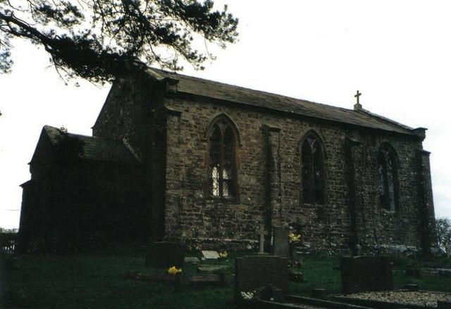 East Burton: former church of St. Mary
