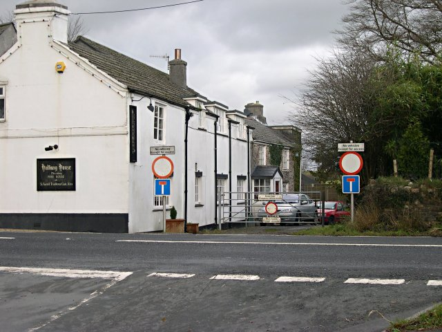 The Halfway House Inn at Grenofen Cross