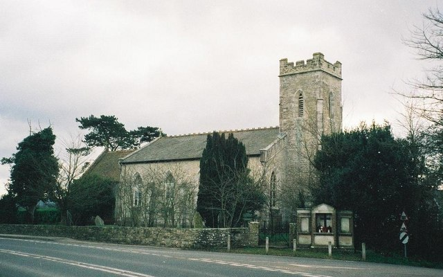 East Stoke: former parish church of St. Mary