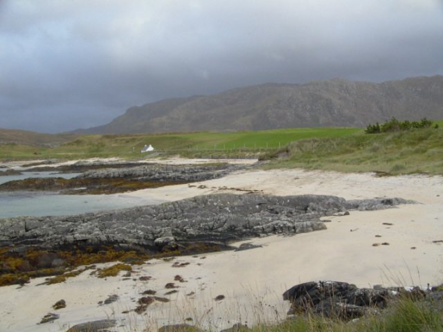 One of the many beautiful beaches north of Arisaig