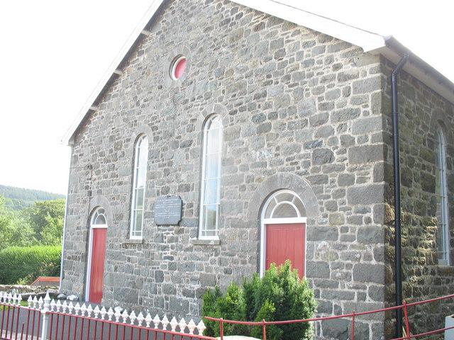 Capel yr Annibynwyr Rhydymain Independent Chapel
