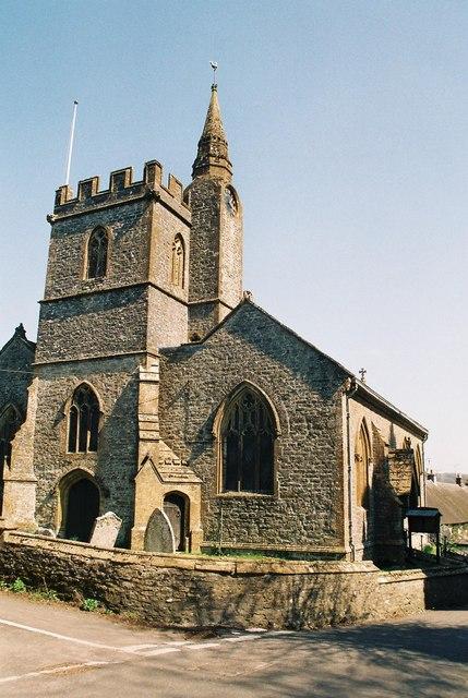 Evershot: parish church of St. Osmund
