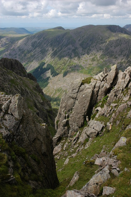 Crags on Pillar