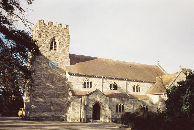 Ferndown: parish church of St. Mary