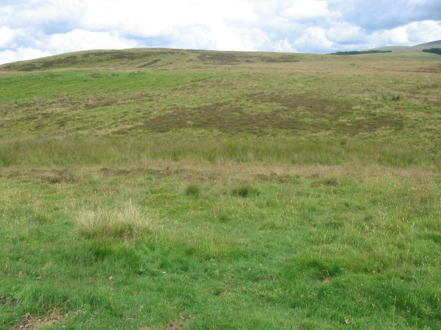 Moorland above Cocksburn