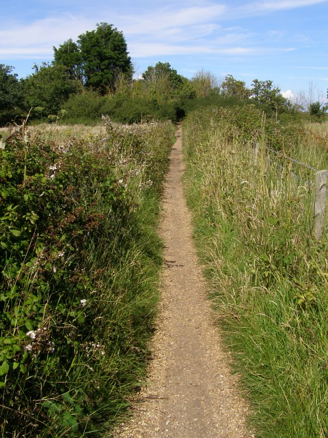 Footpath from Lower Pennington Lane to Lower Woodside
