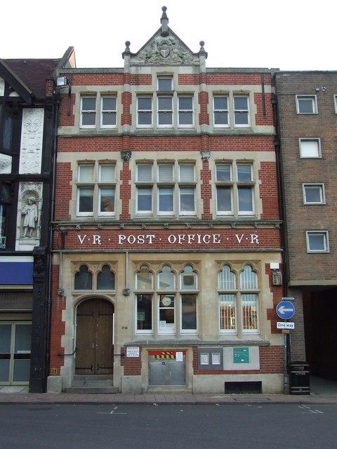 Bury St. Edmunds Post Office