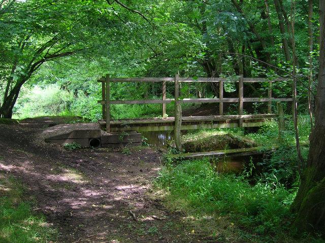 Old and New Bridges near Pottens Mill Farm