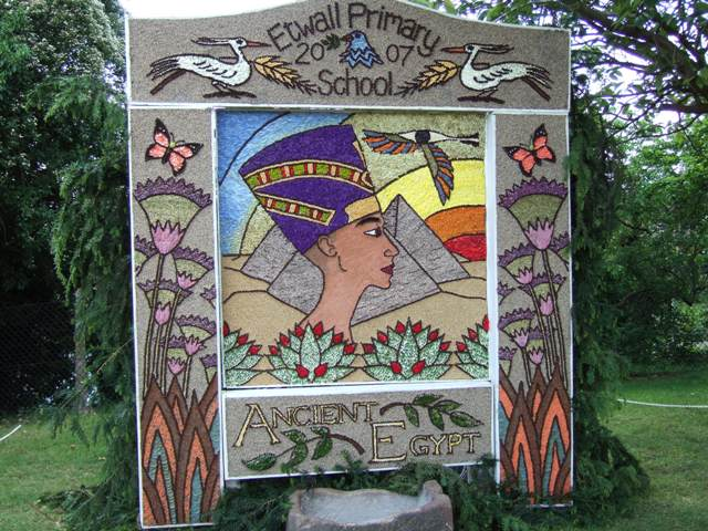 Etwall well dressing 2007