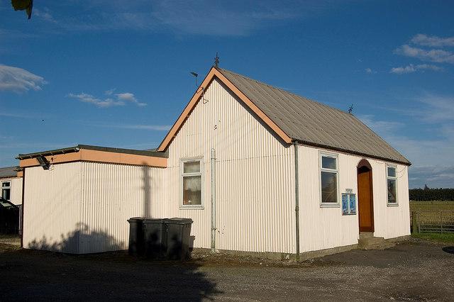 Whiterashes village hall