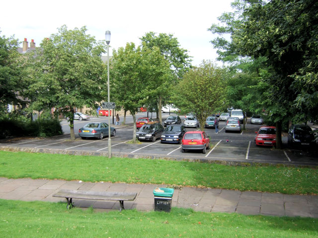 Keighley - Church Street, car park