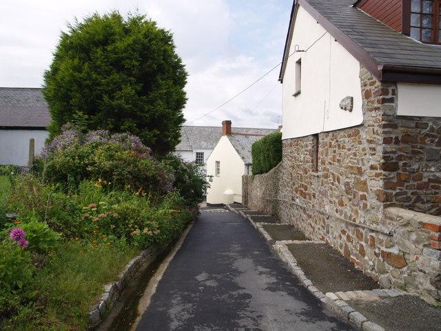 Lane in Hartland