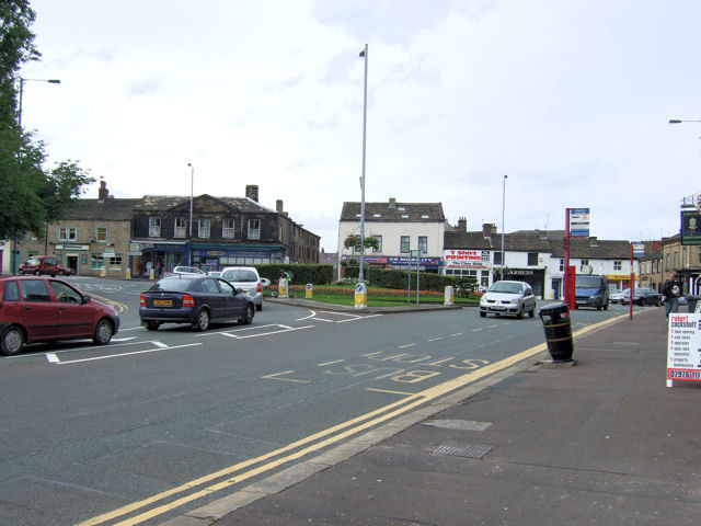 Keighley - A629/B6143 roundabout