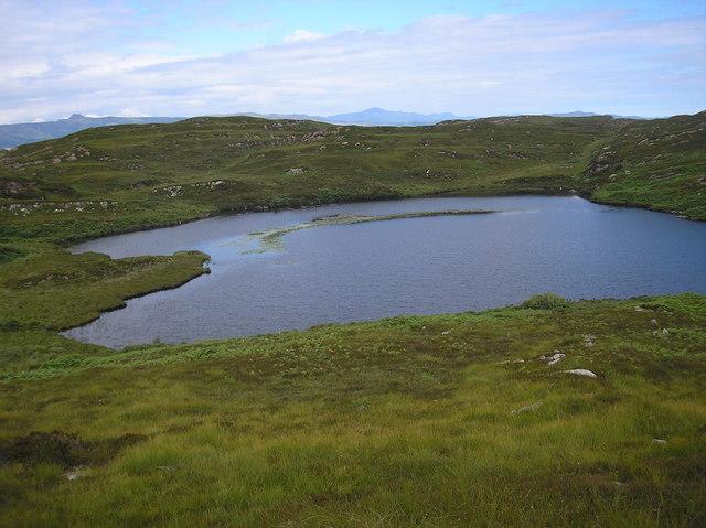 Small Loch on Eilean Mor