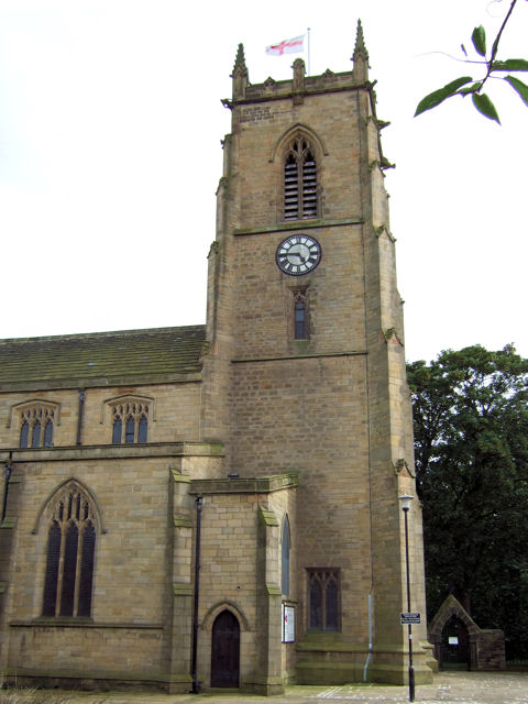 Keighley - St Andrew's Church (tower)