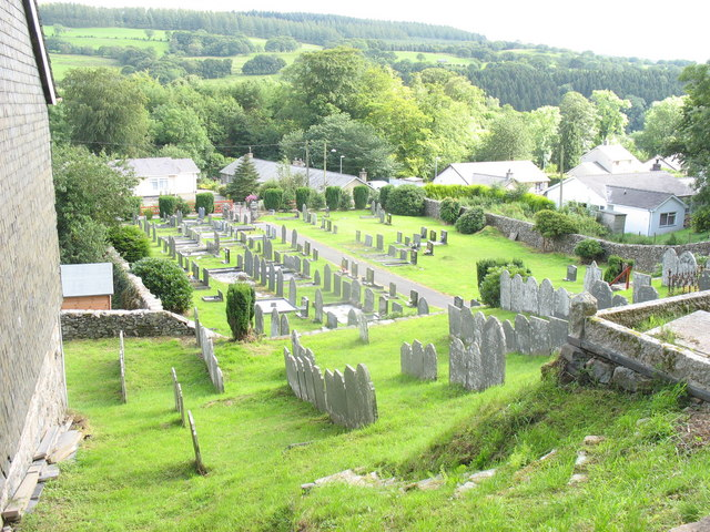Gravestones and bungalows
