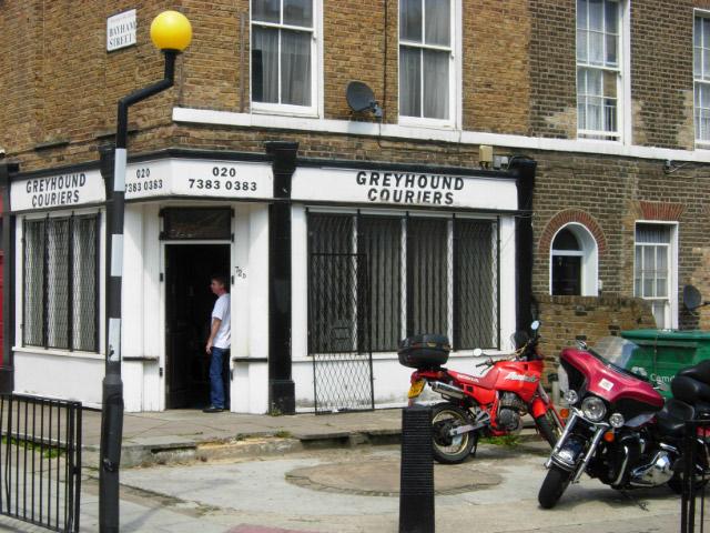 Greyhound Couriers, Camden Town