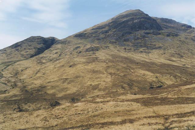 Slopes east of Beinn Fhionnlaidh