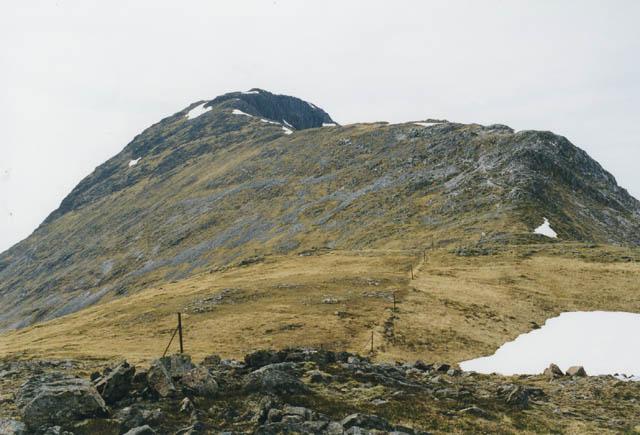 The main backbone of Beinn Fhionnlaidh