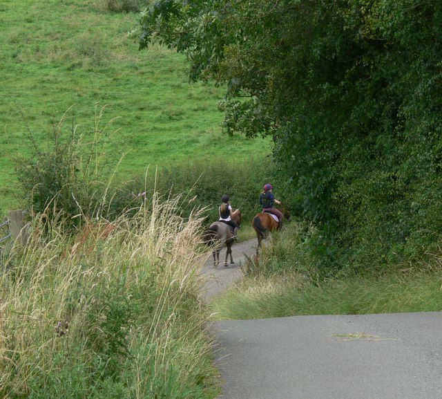 Riders on Horse Hill