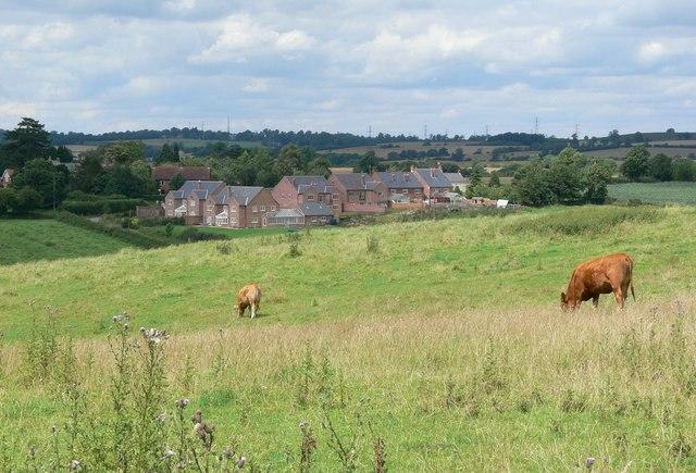 Farmland south of Goadby, Leicestershire