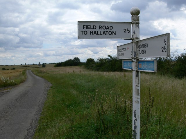 Field Road to Hallaton
