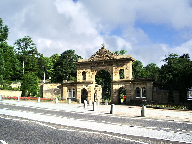 Entrance to Corporation Park, Blackburn