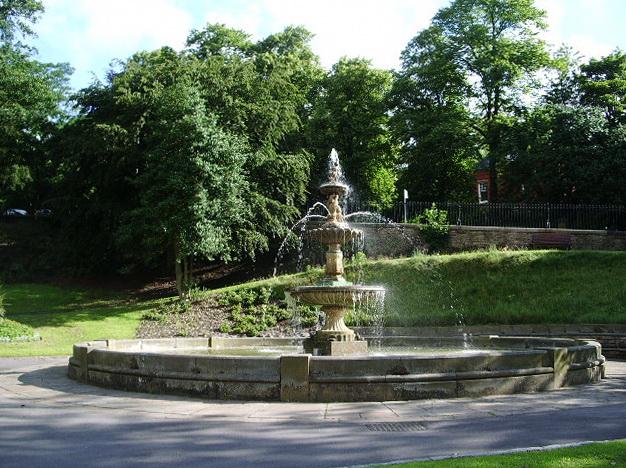 Fountain, Corporation Park, Blackburn