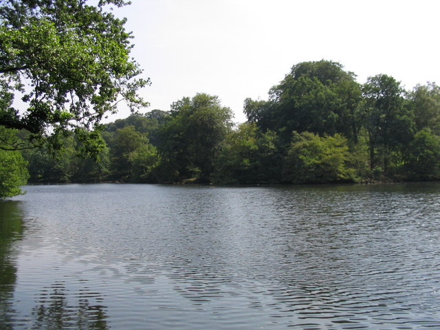 One of the Swinton Park lakes