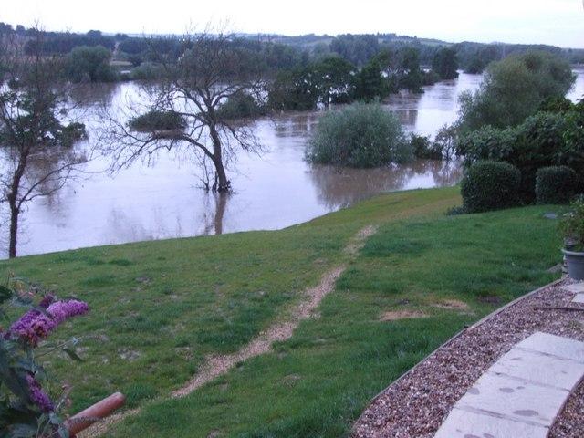 Flooded River Avon