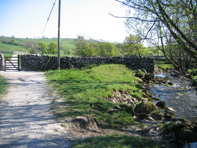 The Pennine Way and Malham Beck