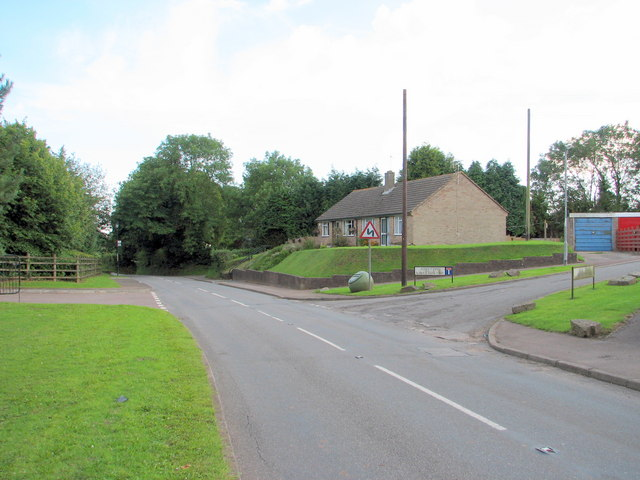 Trellech - Roman Way junction