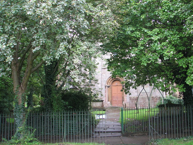 St Mary's church - north transept door